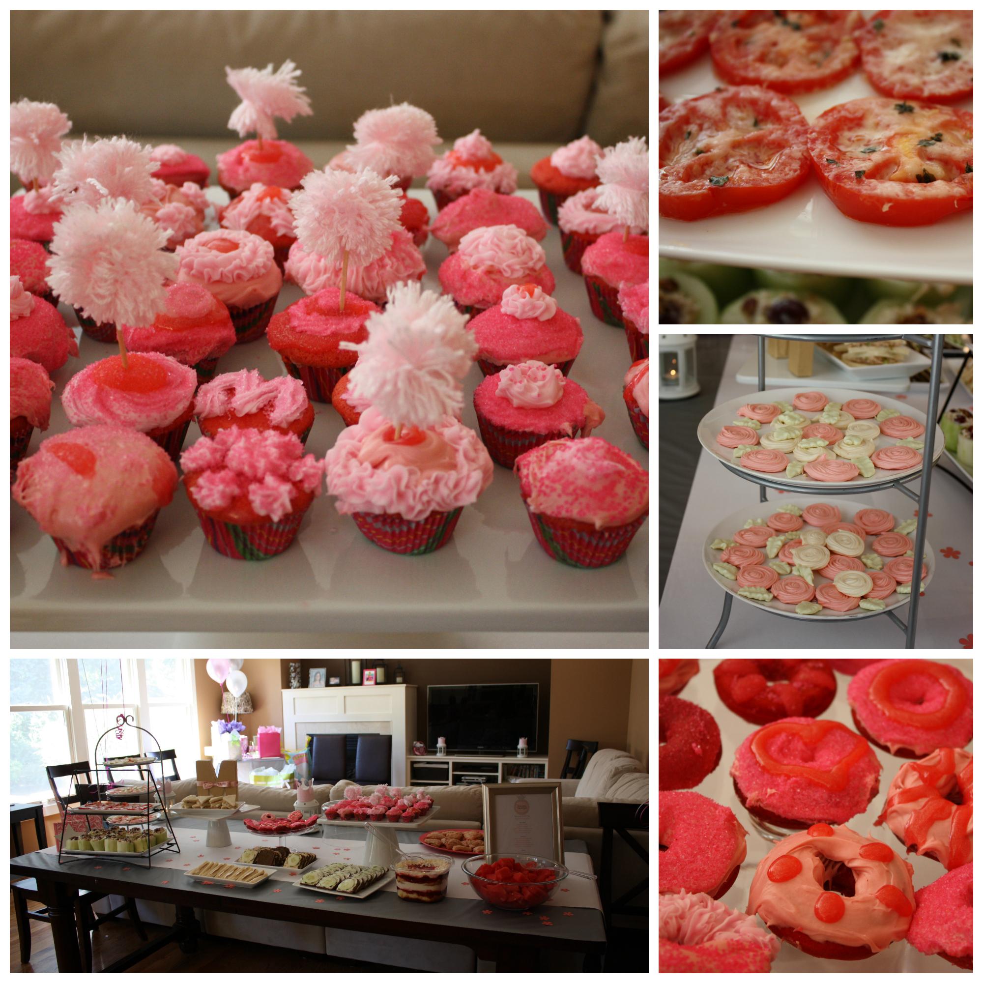 Baby Shower Girl Snacks ~ Food for baby shower girl recipes