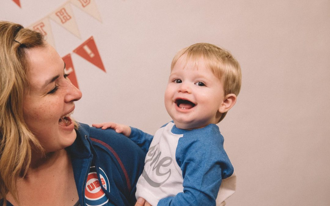 Vintage Baseball Party: Cal's 1st Birthday