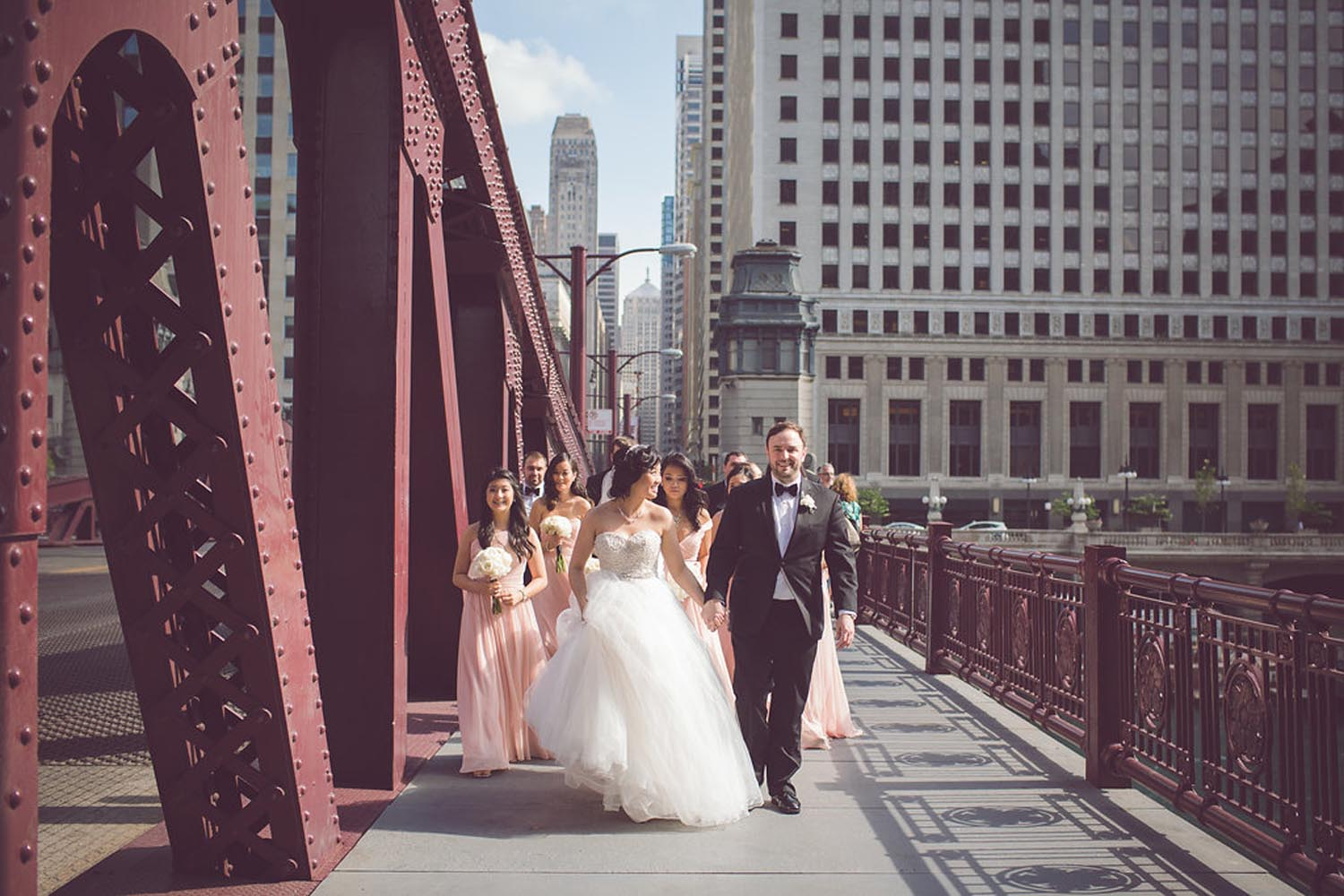 City Chic Chicago Style Wedding