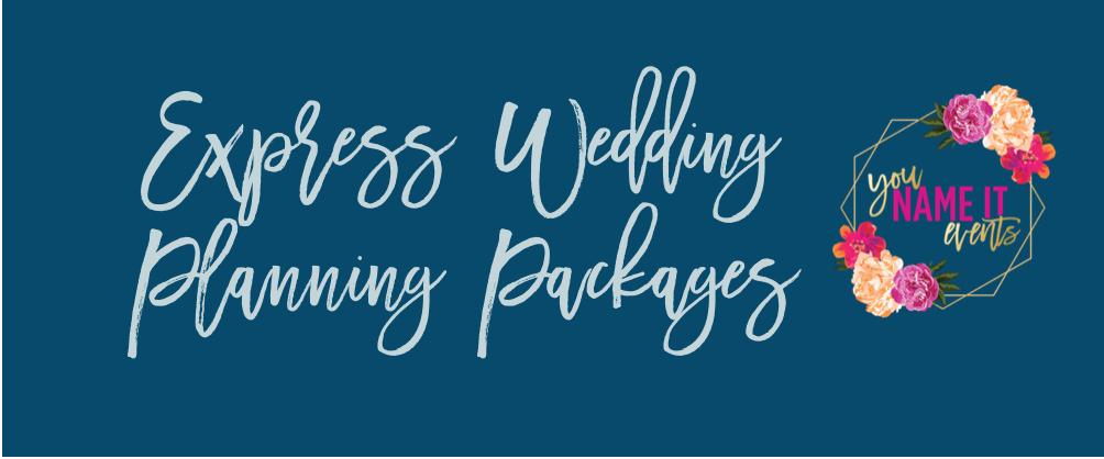 Coronavirus got you down: Express Wedding Planning can help!